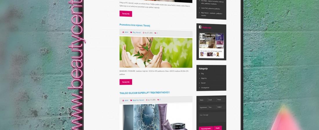 Dobrodošli na beautycentarchiara.com